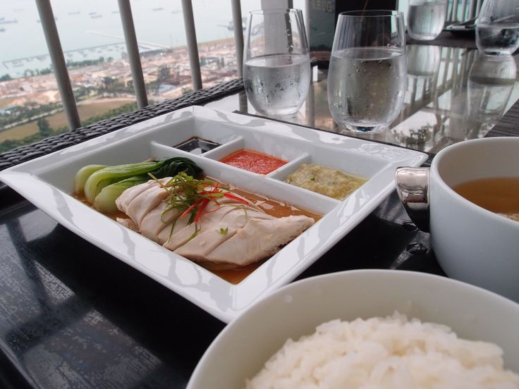 Hainanese Chicken Rice @ Marina Bay Sands, 2013/1