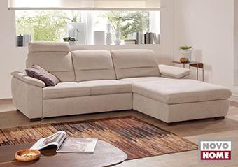 Nagy elemválasztékú ülőgarnitúra, kanapé, L és U alakú változatban sokféle méretben kapható. Ágynak nyitható változat, ágyneműtartó funkció is kérhető.