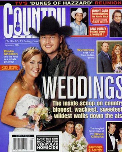 Blake Shelton First Marriage
