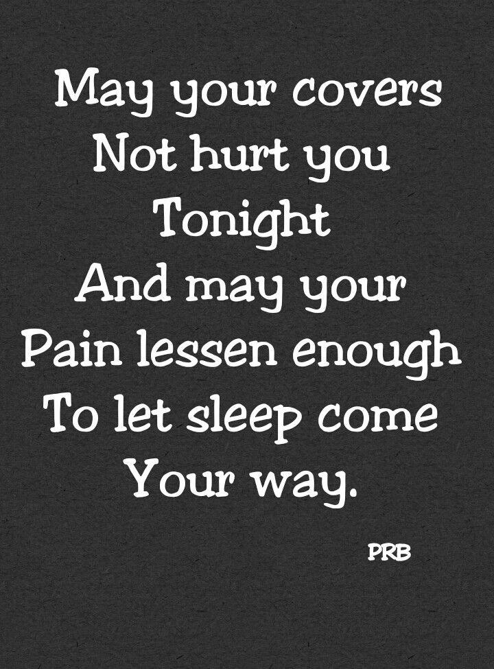 Night pains