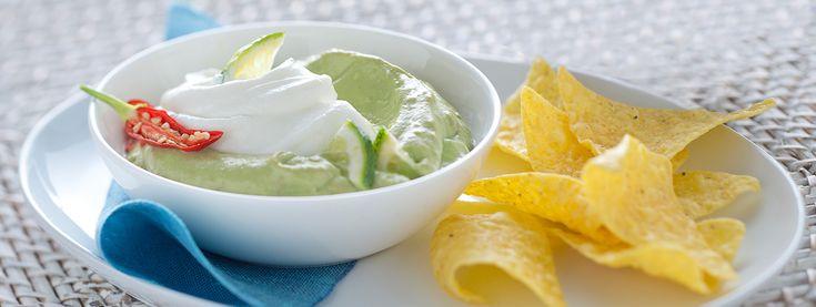 La classica salsa messicana incontra il classico yogurt greco: che bontà!