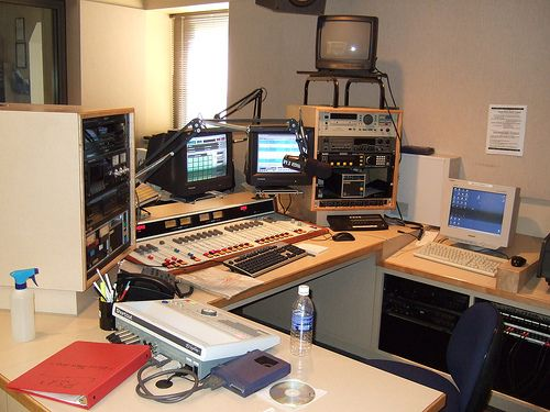 Photo of typical radio station
