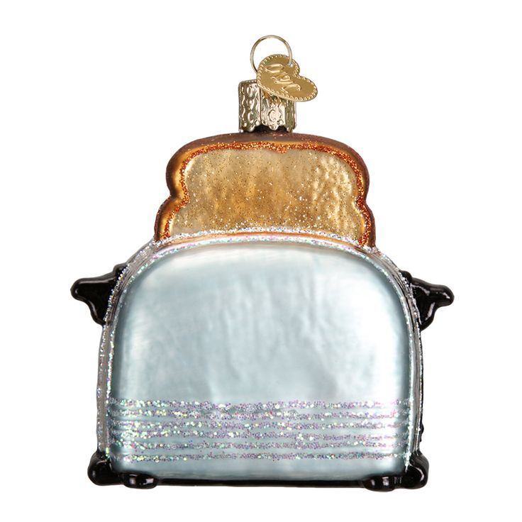 Merck Familys Old World Christmas Ornaments-I bought this for troy and I this year since he's my toaster Household