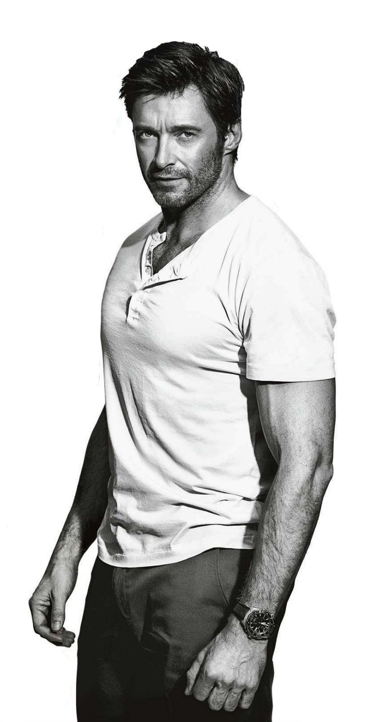 Hugh Jackman. I know I've posted him once. Twice, even. Three times a charm?? He's just so freakin gorgeous.