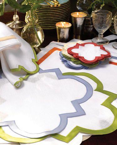 Mirasol Table Linens-Placemats, Napkins, Cocktail Napkins