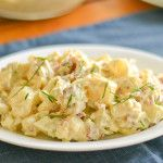 This best homemade potato salad recipe was both delicious and filling. The addition of bacon and celery gives this salad crunchy taste and texture.