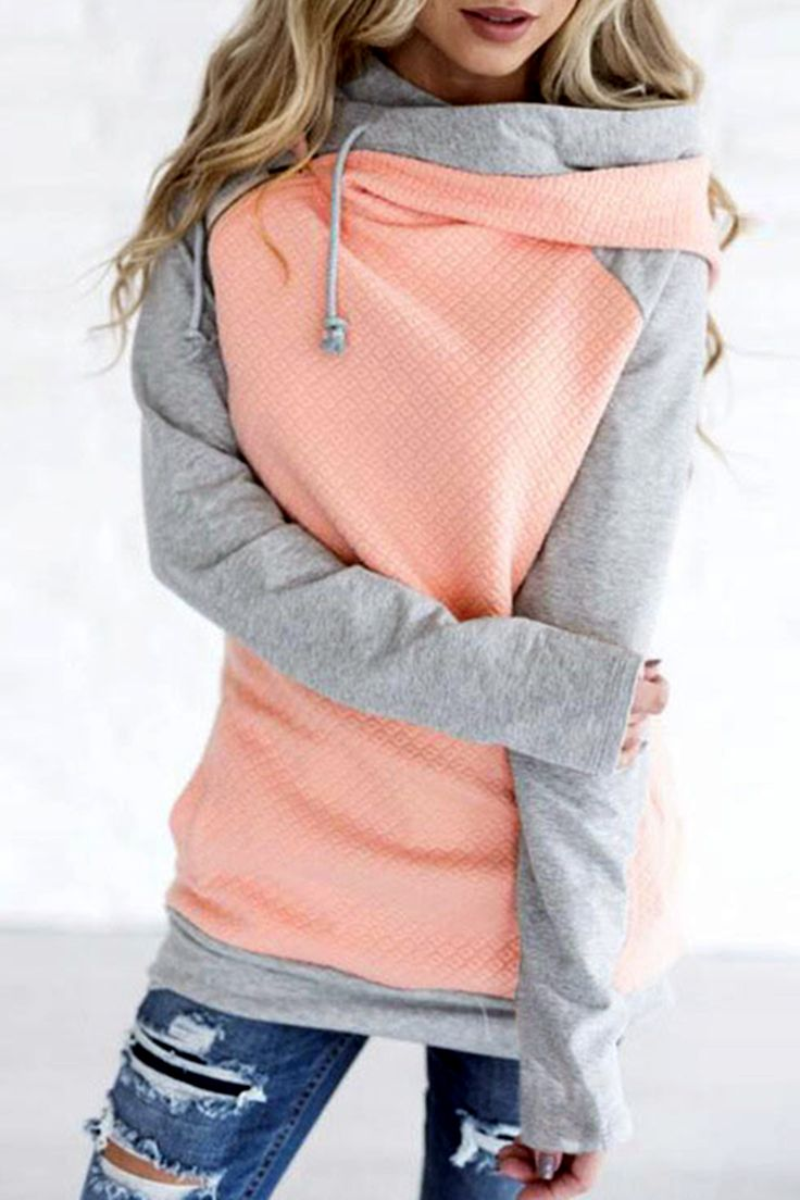 Our most popular piece and for good reason! This hoodie is the cutest way to stay comfortable and cozy while remaining dang cute! It's zipper detail adds a fun element, double hoods keep your noggin warm, and the material will keep you comfortable any (or all) days of the week!