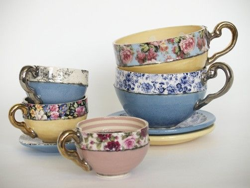 photos tea cups | from mugs to dainty tea cups and saucers, any combination of colour ...