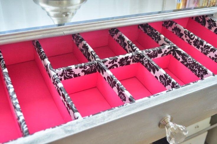6 clever diy drawer dividers diy pinterest schubladen schubladenteiler und selber machen. Black Bedroom Furniture Sets. Home Design Ideas