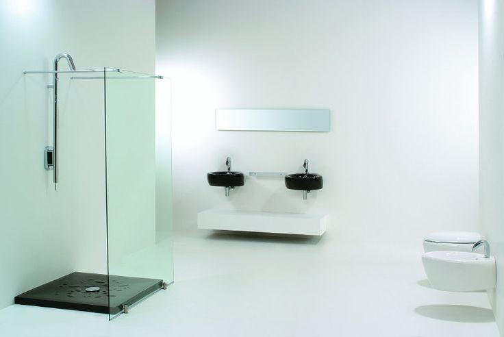 47 best images on pinterest bathrooms baths and corner. Black Bedroom Furniture Sets. Home Design Ideas