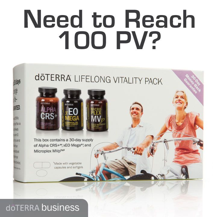 Need to Reach 100 PV? | doTERRA Business Blog