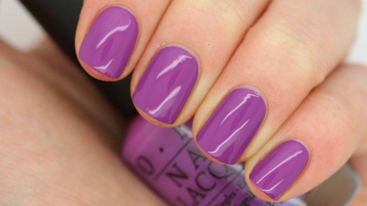 Swatches OPI Collection Spring 2016 | Zoals jullie weten draag ik niet vaak paarse nagellak, maar I Manicure ...