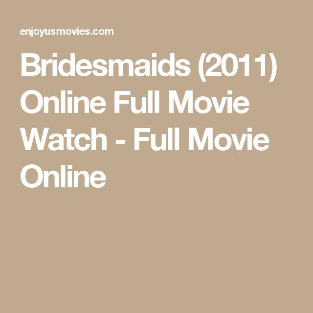 Bridesmaids (2011) Online Full Movie Watch - Full Movie Online