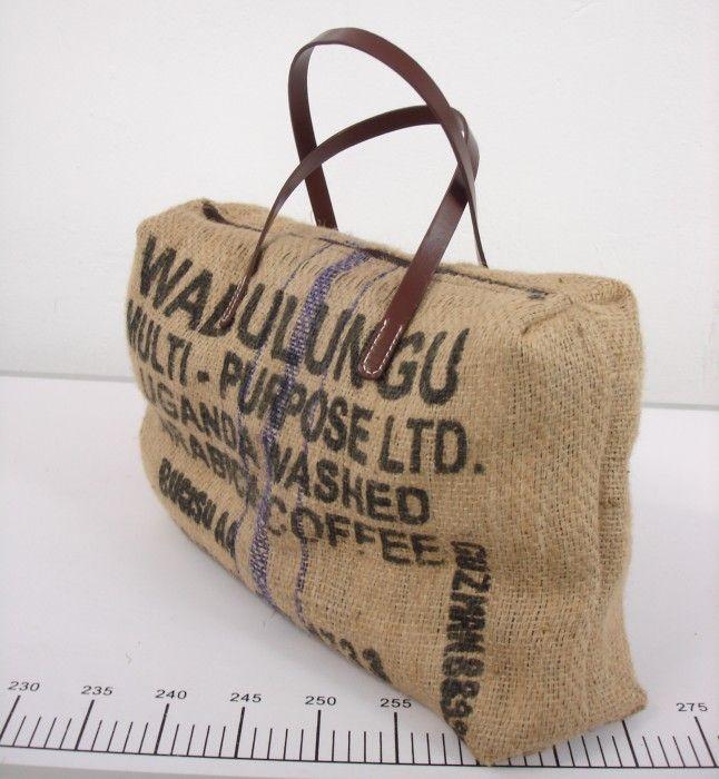Cose y Recicla: Bolso con antiguos sacos de café!!! en MADRID (17/09/2016)…