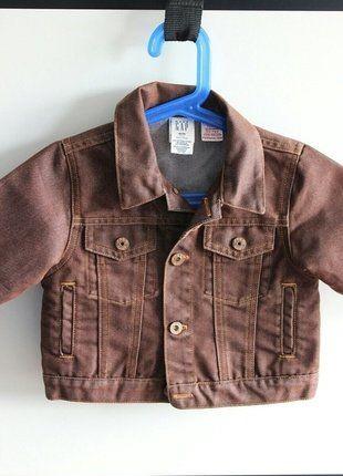 Kupuj mé předměty na #vinted http://www.vinted.cz/deti/kluci-kabaty-a-bundy/16190592-gap-nova-detska-dzinova-bunda-vel-6-12-mesicu