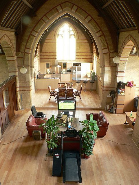 72 Best Images About CHURCHES CONVERTED TO HOMES On