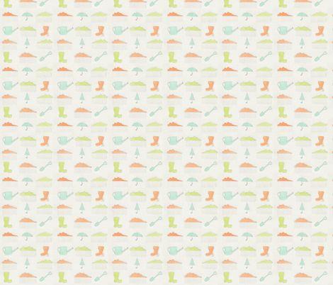 Wellies! fabric by t-w-i-n-k-l-e on Spoonflower - custom fabric