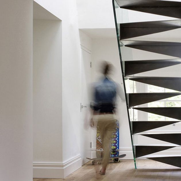 49 Best Images About Steel Stairs On Pinterest