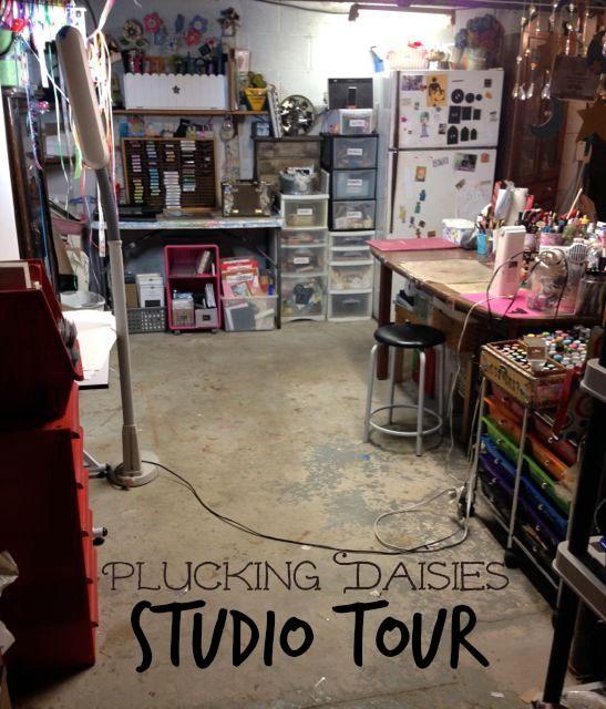 Plucking Daisies Studio Tour