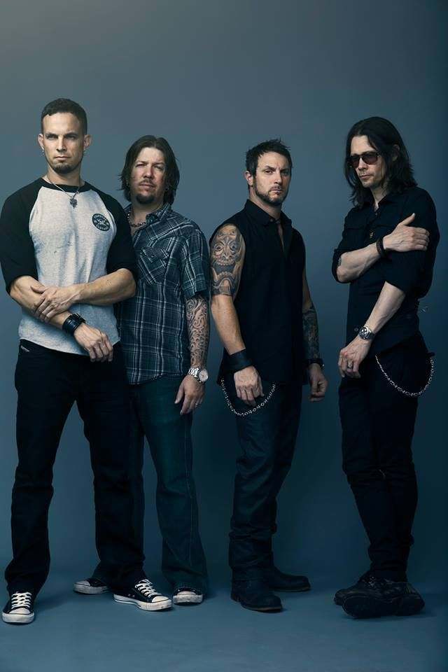 Alter Bridge photoshoot