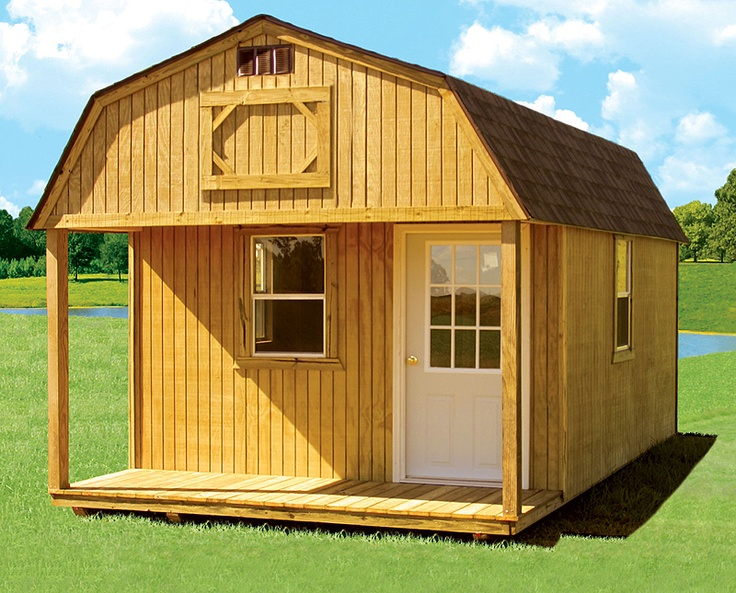 Storage Shed Cabins : Best images about sheds barns houses on pinterest