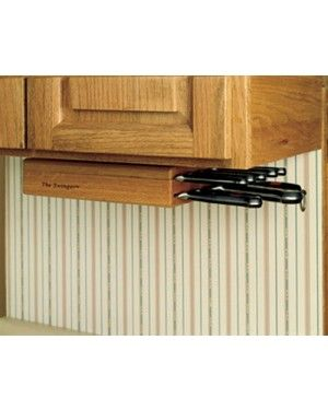 Find This Pin And More On Next House Kitchen Wusthof Under Cabinet Knife Storage