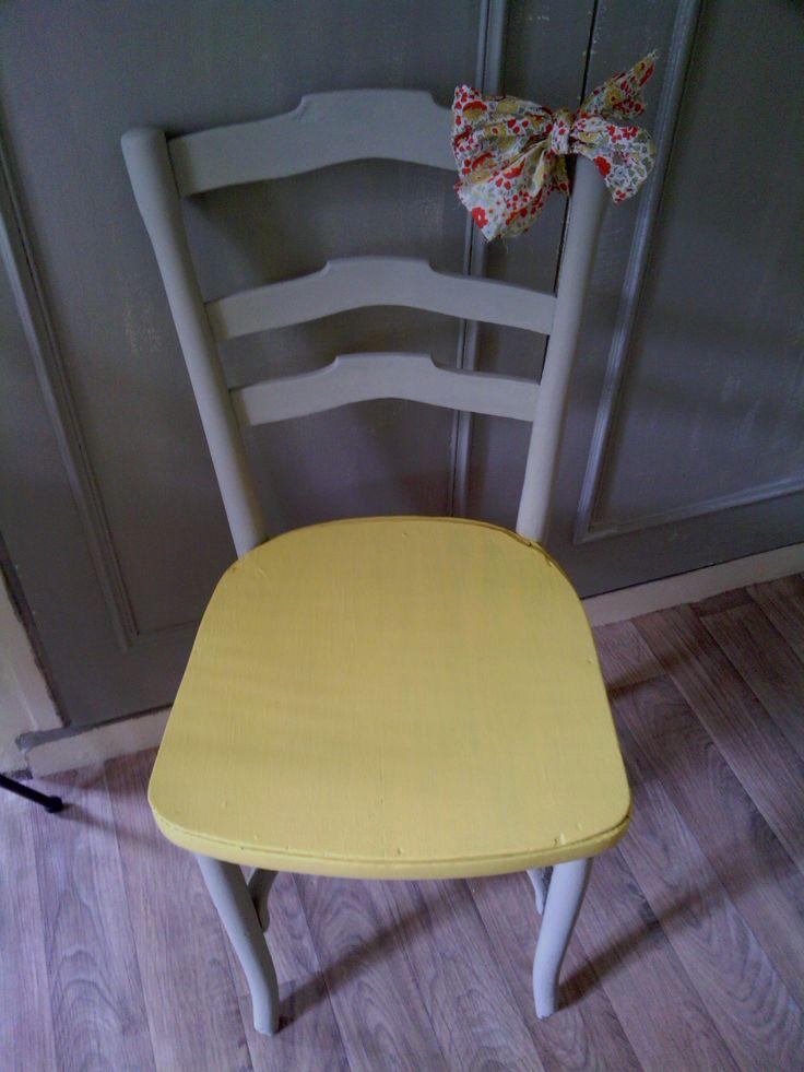 La chaise donnée APRES transformation n°1