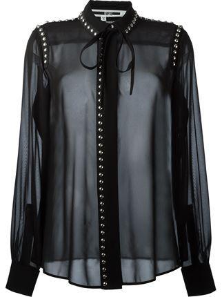 Mcq Alexander Mcqueen Studded Shirt - Vitkac - Farfetch.com
