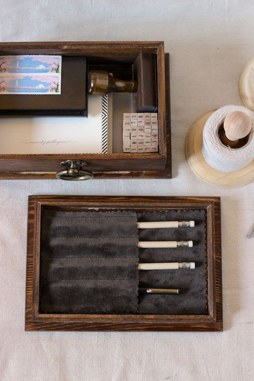 Keep all of your letter-writing tools together with a small stationery kit!