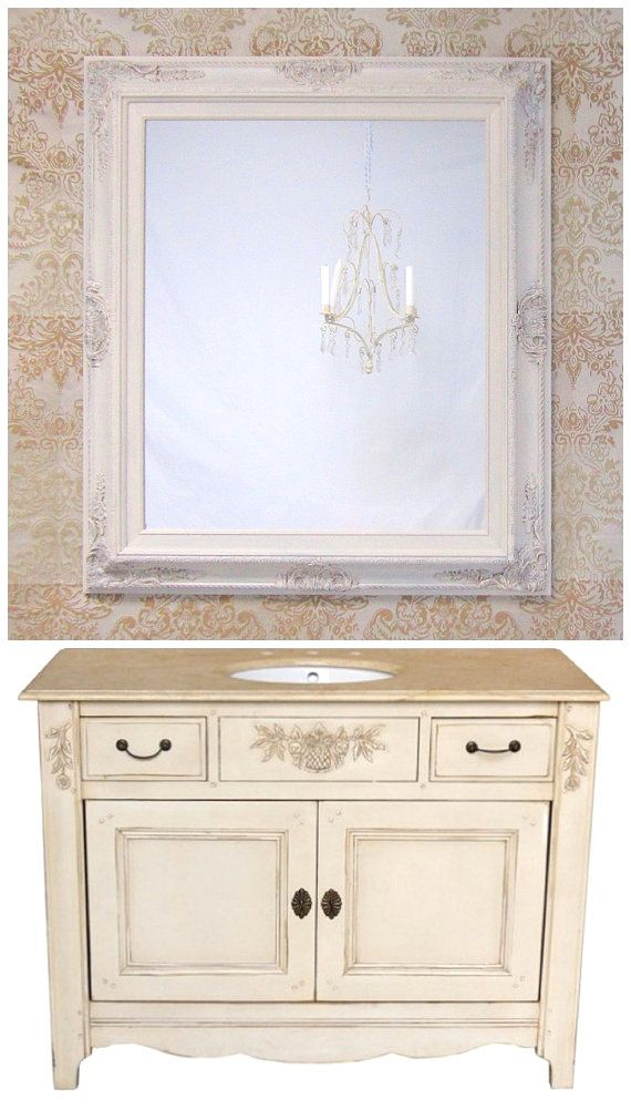 BATHROOM VANITY MIRRORS For Sale French Country by RevivedVintage, $189.00