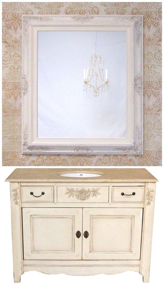 Ivory Copper Vessel Sink Vanity