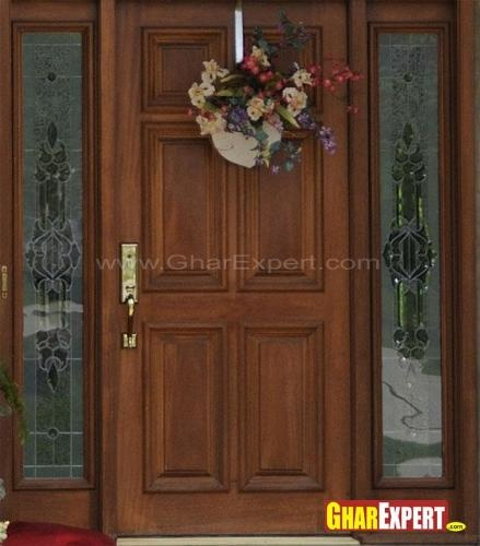 17 best images about main door designs on pinterest for Wooden single door design for home