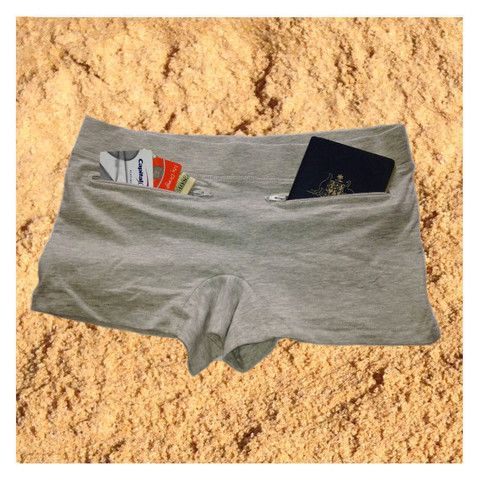 Ladies' Pocket Underwear - better than any fanny pack