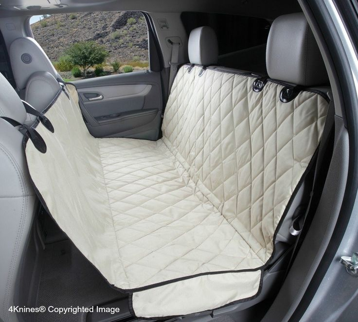Split Rear Car Back Seat Cover