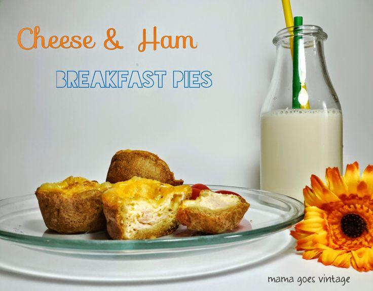 Mama goes Vintage: Γρήγορα πιτάκια για πρωινό