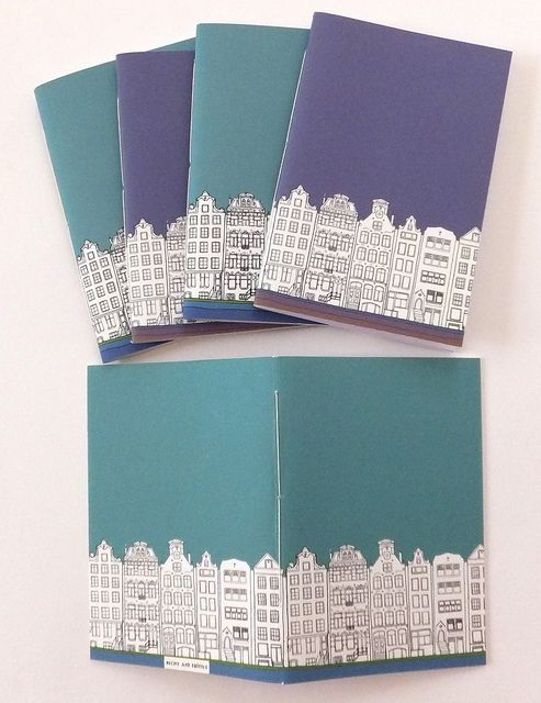 Amsterdam Journals - handmade pamphlet stitch journals |Peony and Thistle