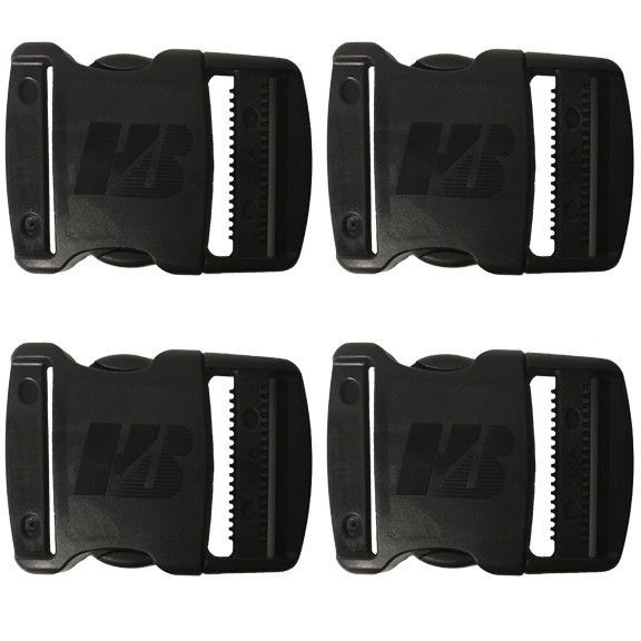 Humes and Berg Official Plastic 2 Inch Plastic Buckle Set of 4 #HumesandBerg