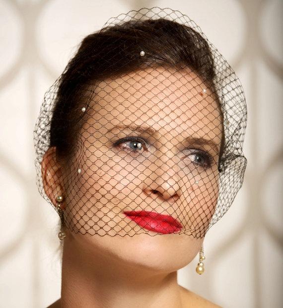 New Womens 3 T Ivory White Black Wedding Bridal Short Satin Edge Veil With Comb