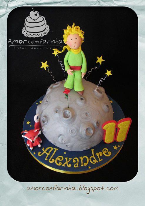 The little prince - Cake by AmorcomFarinha