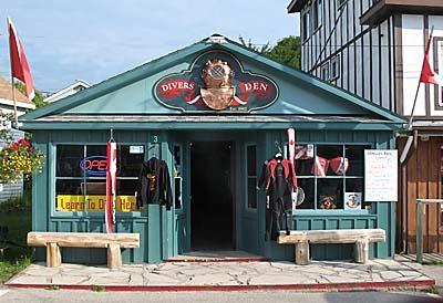 Our Dive Shop (Divers Den)  Bruce Peninsula