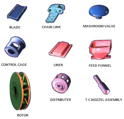Spares for shot / sand blasting machines,manufacturers,india,mumbai