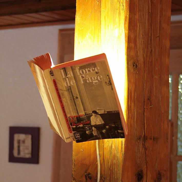 Livresse: favorite book lamp by BorisLab | Please subscribe to my weekly newsletter at upcycledzine.com ! #upcycle