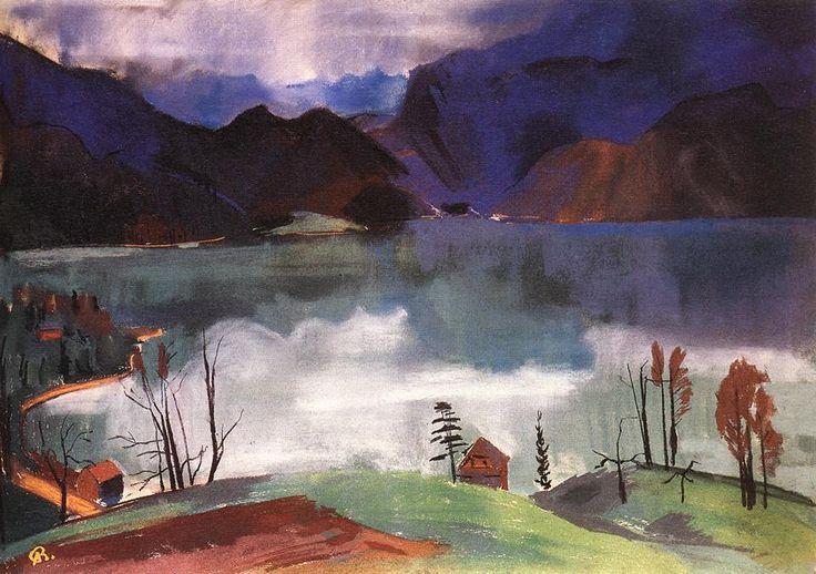 Bernáth, Aurél (1895-1982) - Walchensee No.2., 1928