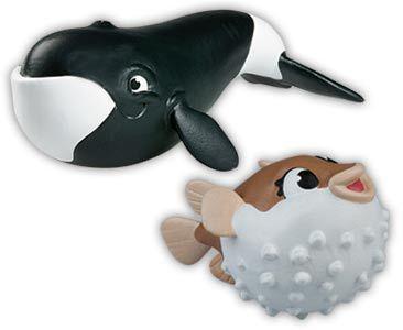 Libro 17 + mamá pez globo + mamá ballena de Groenlandia