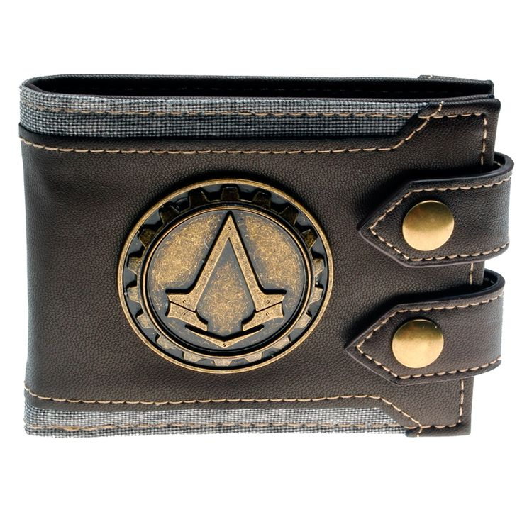cool Wallet Assassins Creed Unity Juego Game Merch Loot - The unique faux lather wallet by your favourite fandoms. Size: ~ 85mm x 110mm x 15mm