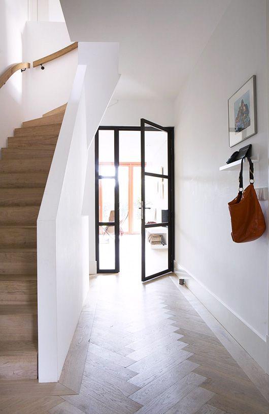 glass hallway doors in modern barn house via vtwonen. / sfgirlbybay