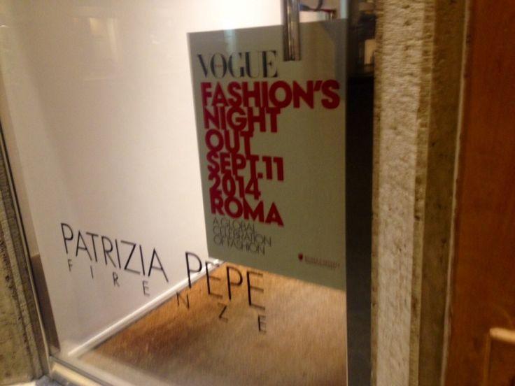 Patrizia Pepe @Vogue Fashion's Night Out Rome 2014