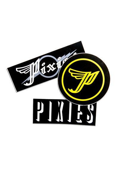 Pixies p wing stickers vinyl sticker set