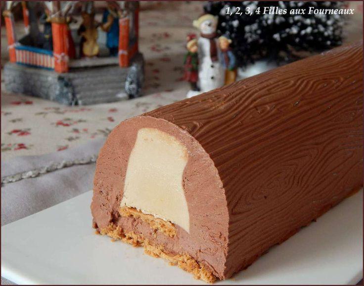 Bûche Chocolat - Spéculoos