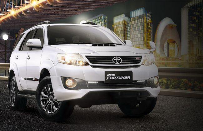 HD Wallpaper - Toyota Fortuner 2014 White Color